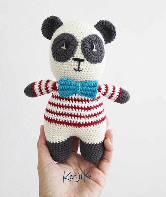 Amigurumi Panda häkeln | Supergurumi | 675x570