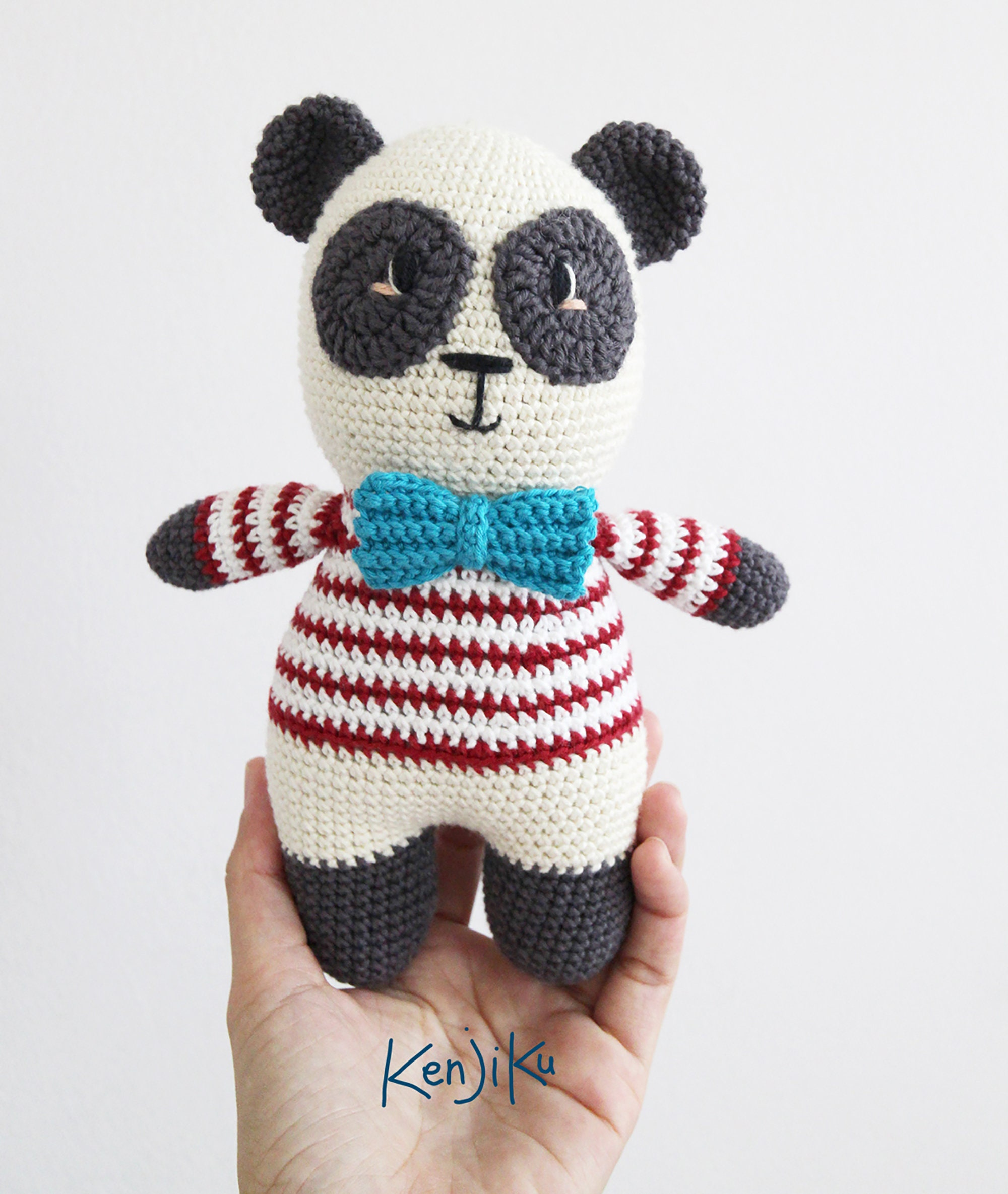 Super Cute Panda Crochet Patterns You Will Love | Crochet panda ... | 2370x2000
