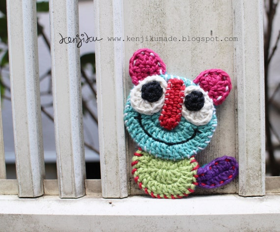 Big Eyes Meow Crochet Patterncat Diycat Crochet Patterncat Etsy