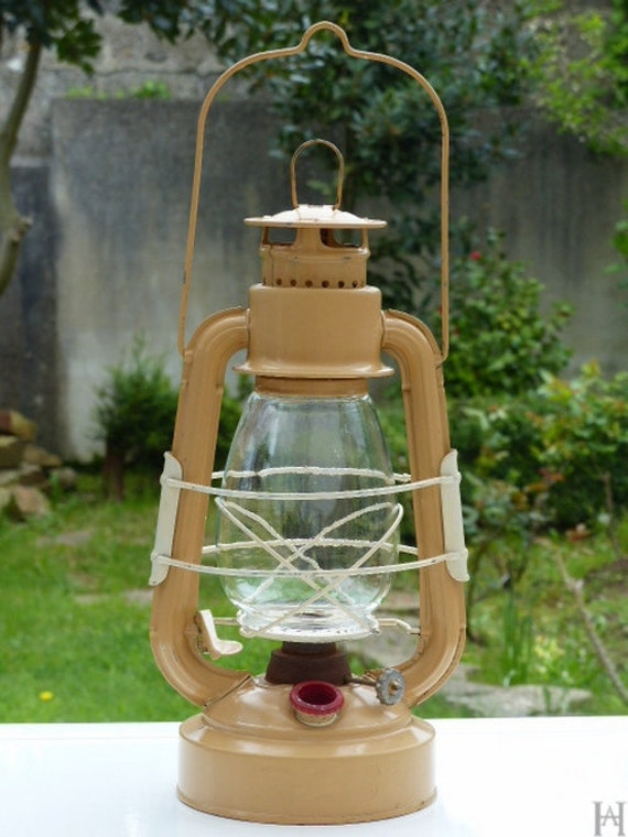 Lampe Tempete Vintage Lampe A Huile Petrole De Camping