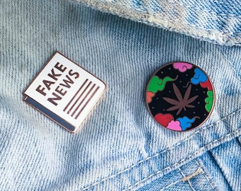 Political Protest Pin Set!