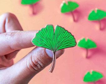 Plant Enamel Pins Little Leaves