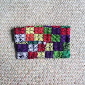 Artisan made Make Up Bag: Handmade in Madagascar Madagascar- Colourful Embroidered African Purse