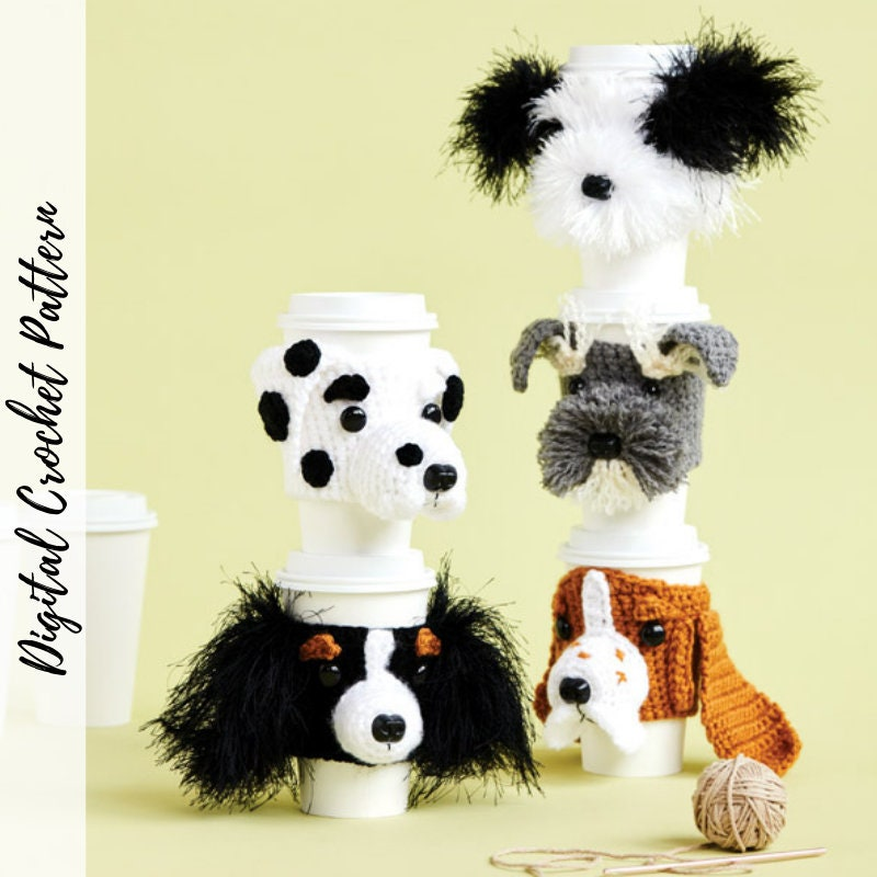Dog Breed Crochet Cozy Patterns, Full Bundle