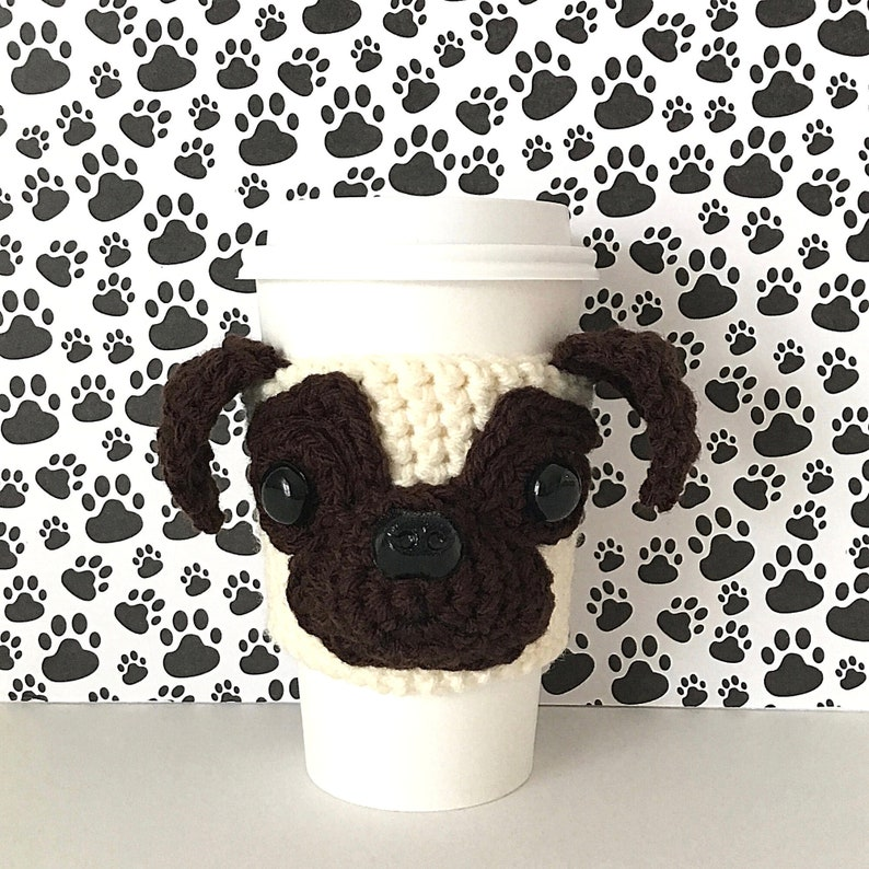 Pug Mug Cozy Pug Gifts for Women Pug Items Pug Lovers Pug image 0