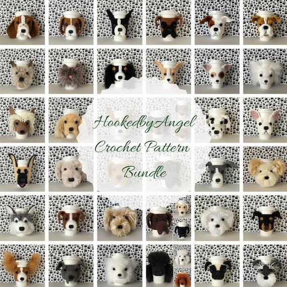 Perro patrón de ganchillo ganchillo perro patrón perro