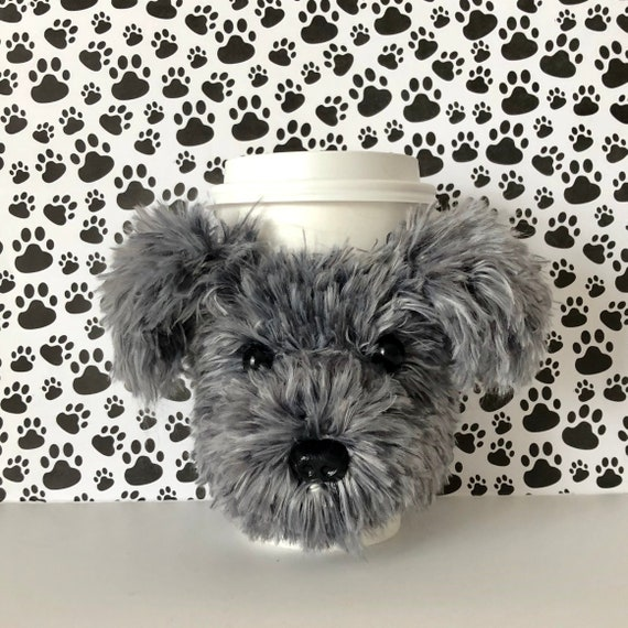 Fluffy Morkie Shorkie Maltipoo Yorkie Poo Dog Cup Cozies Etsy