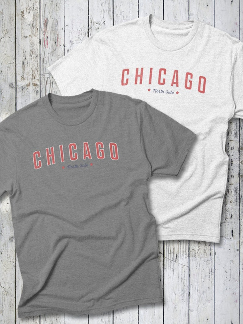 Chicago CUBS Tee  Chicago Baseball Cubbies Cubs Tee image 0