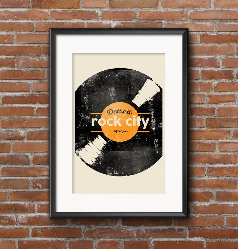 Detroit Rock City Limited Edition Art Print  11x17 Poster by image 0