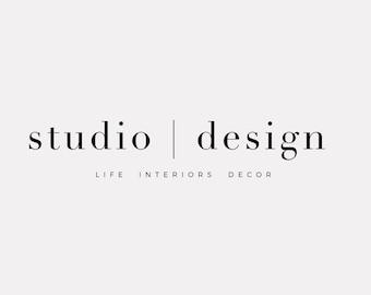 Premade Logo, Blog Header, Business Logo, Website Logo, Logo Design, Brand Design, Blog Logo, Feminine Logo, Branding, Photography Logo