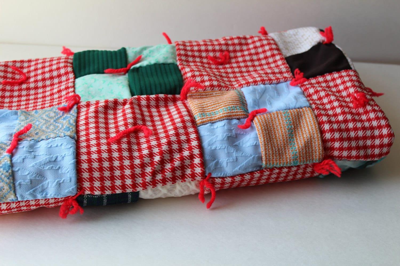 Vintage Baby Quilt Vintage Patchwork Quilt Crib Bedding Etsy