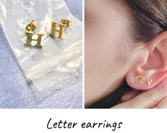e5c1d51c56903 Name earrings for kids   Etsy