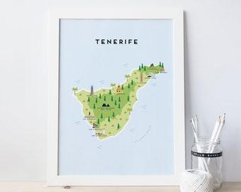 Tenerife | Etsy