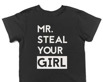 Boy's shirt, Funny toddler shirt - Mr. Steal your girl, Trending boy clothes, Boy gift