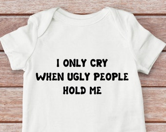 Funny baby bodysuit, funny baby clothes, funny Baby boy bodysuit, funny baby girl bodysuit, baby shower gift, Funny baby gift