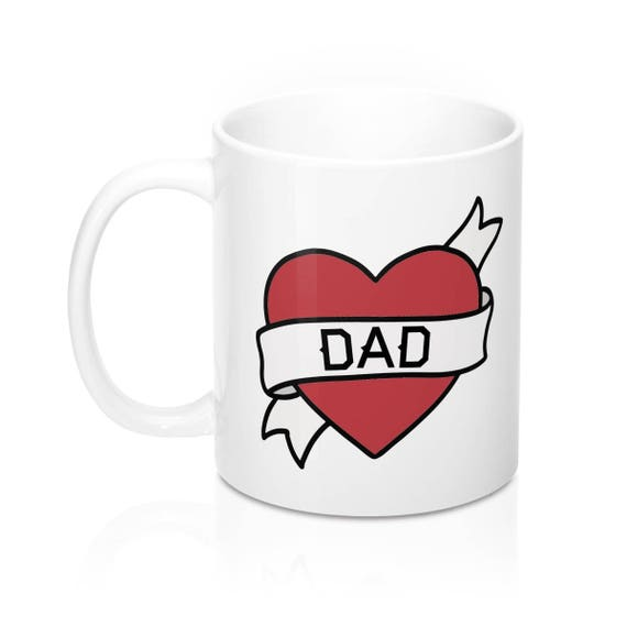Dad Mug Best Gift Form Daughter From Son Step