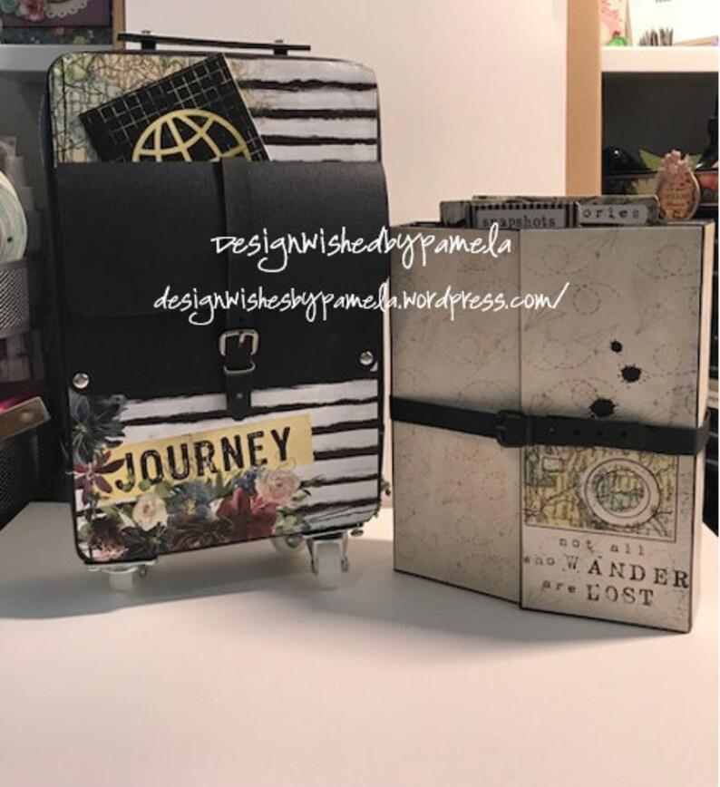 Flight Bag and Mini Album Written Instructions image 0