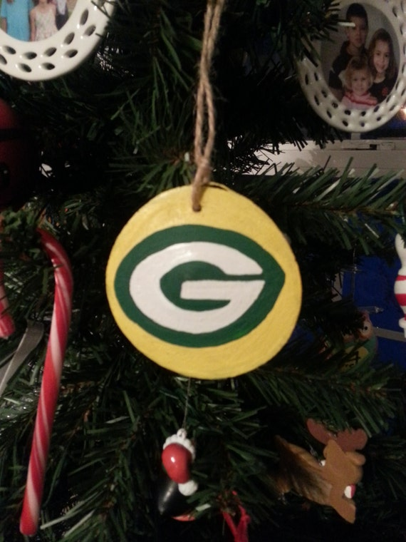 image 0 - Green Bay Packers Christmas Ornaments
