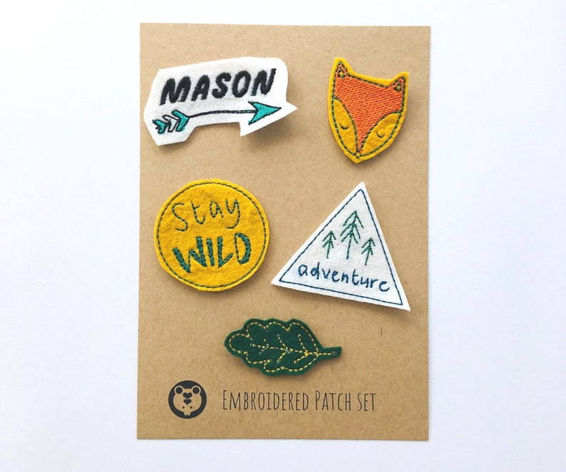 Wild Parches Cactus Patch Camping Travel Patches Outdoor Landscape Patch Wild Adventure Patches Sewing on Iron on Patch
