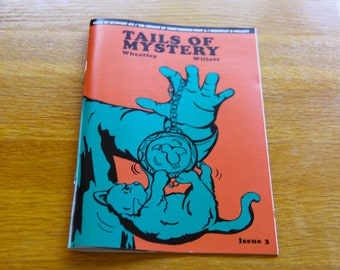 Comic Book - Tails of Mystery Issue 3, Cat Comic, Detective Comic