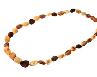 Baltic Raw Natural Amber Necklace Beads