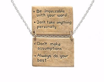 The Four Agreements Refrigerator Magnet