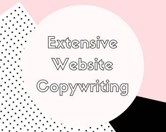 Website Copy - Premium Copywriting - Copywriting - Content Creation - Writing - Web Writing - Websites - Copy
