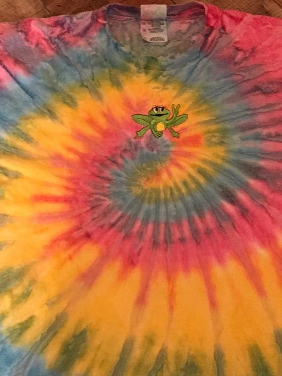 VINTAGE GRATEFUL DEAD tie dye t shirt