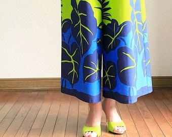 Hawaiian Maxi Pants-Taro,Kalo,hawaiian style,HNLS03025-47310