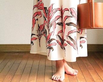 Hawaiian Maxi Pants-Ti Leaf White,hawaiian style,HNLS03024-47310