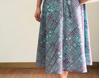 2WAY Hula skirt,Tunic One-piece,Polynnesia Batique, HNLS03028-53410