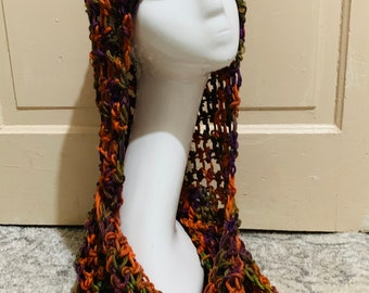 HoCus PocUS Scarf Hood Combo. (Ready to ship free) hooded scarf, hooded cowel,