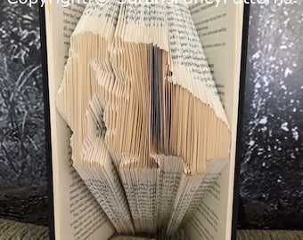 Half Price Sale - Mother and Daughter - Book Folding PATTERN