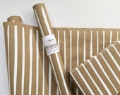 Striped Wrapping Paper - Screen Printed Gift Wrap, 9 Color Options, Striped Kraft Roll, Paper Table Runner, Party Table Decor, FREE SHIPPING