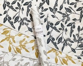 Floral Wrapping Paper - Eucalyptus Screen Printed Gift Wrap, 9 Color Options, Paper Table Runner, Party Table Decor, FREE SHIPPING