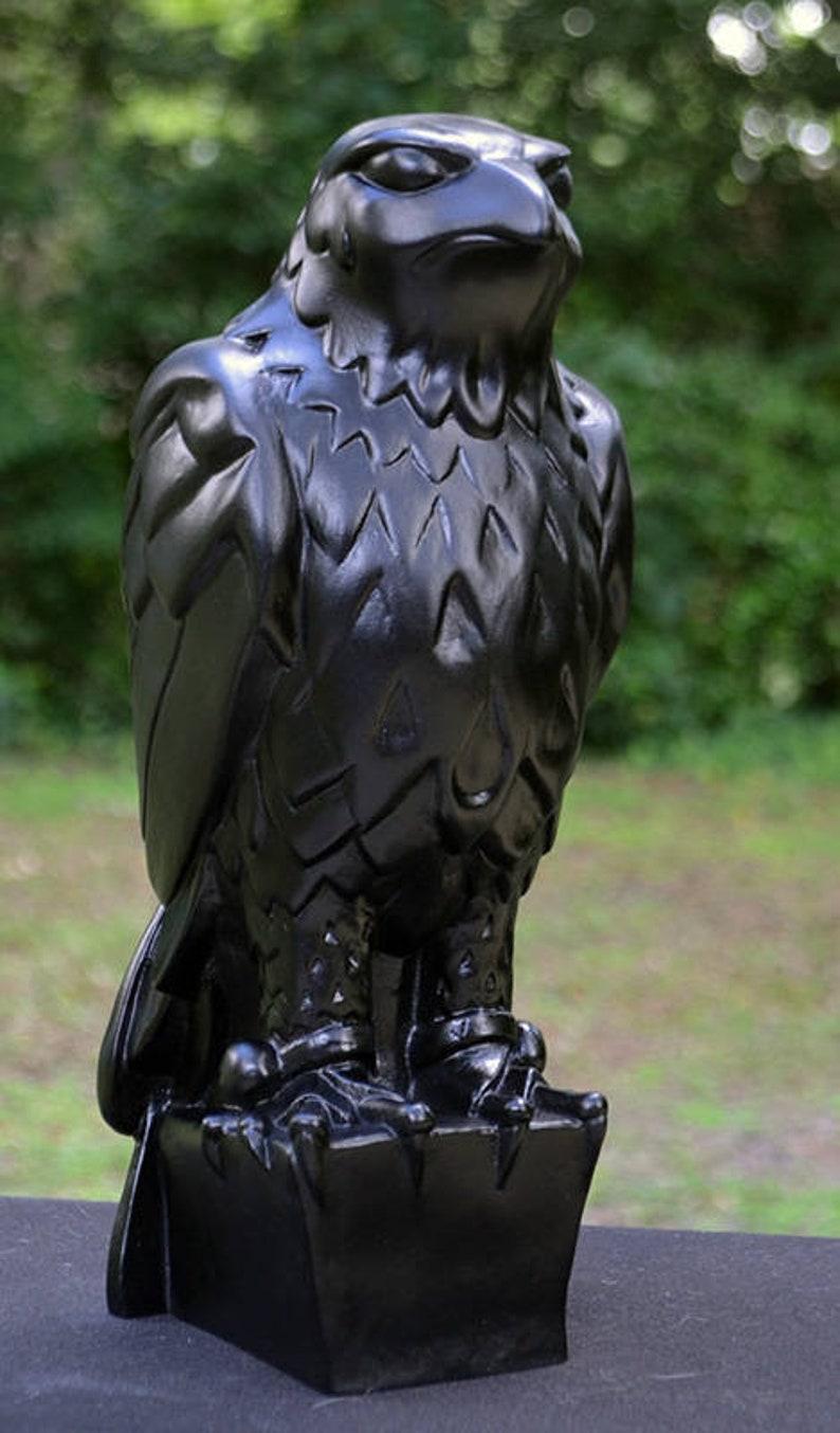 Maltese Falcon  Solid Resin  Black image 0