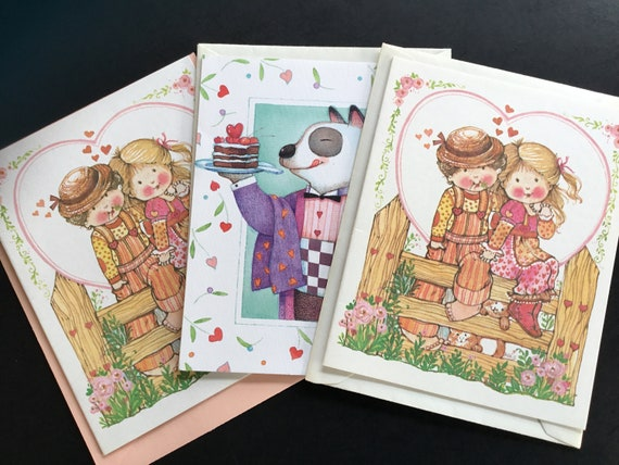 Vintage unused valentines day greeting cards by current etsy image 0 m4hsunfo