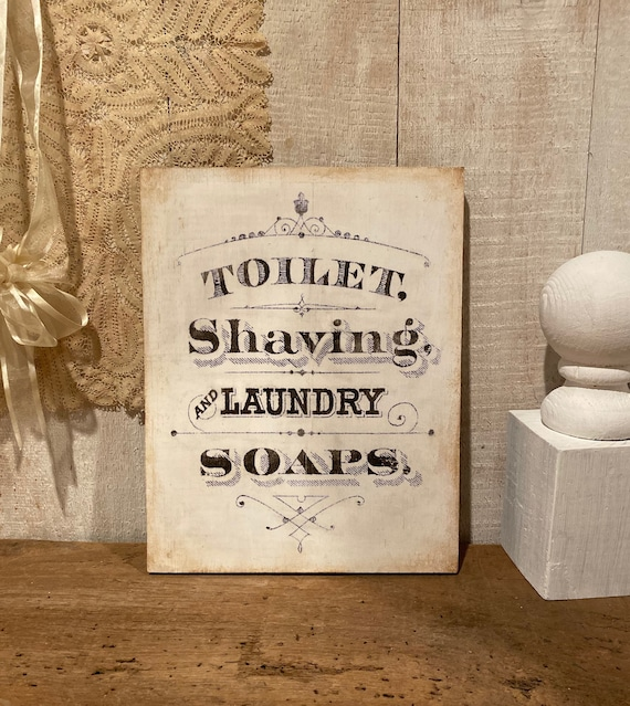 Laundry Room Decor Farmhouse Laundry Or Bathroom Wood Sign Etsy