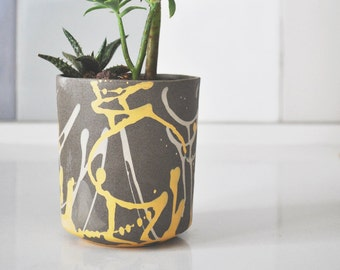 Ceramic Planter, modern planter, Succulent Planter, modern minimalist, Cactus Planter, Flower Pot, Ceramic Pot, outdoor wedding decorations