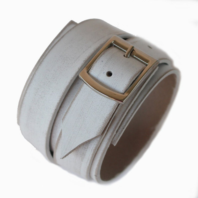 worn white men/'s bracelet leather cuff gift for mens SB genuine leather bracelet men/'s leather bracelet first class leather wristband