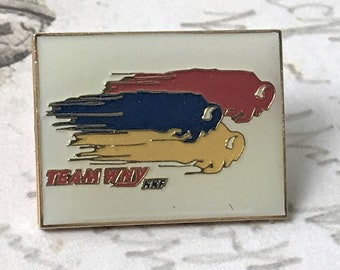 Team WNY Buffalo Souvenir Enamel Pin - Vintage Buffalo New York Mascot Lapel Pin - Western NY Tie Pin - Bills Pride - On Sale Free Shipping