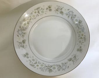 Vintage Imperial China by W. Dalton -Wild Flower Fruit / Dessert / Sauce Bowl #745 - Replacement Dish for Set - Fine China Made in Japan