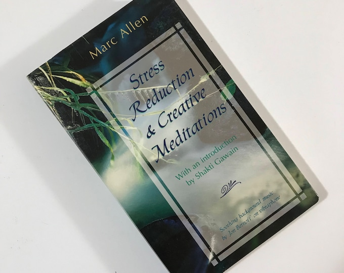 Stress Reduction and Creative Meditations Audiobook by Marc Allen - Book on Cassette Tape - Intro by Shakti Gawain - New Age Self Help Audio