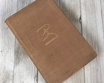 """Antique Brown Cloth Bound Book """"The Brothers Karamazov"""" by Fyodor Dostoievsky First Modern Library Edition 1929 - Classic Literature Books"""