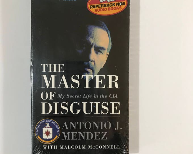 The Master of Disguise: My Secret Life in the CIA by Antonio J. Mendez Audiobook - Book on Cassette Tape - Audio Book - Argo - True Story