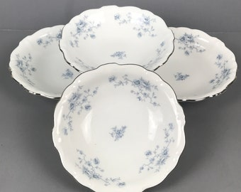 Reserved for Terry -  Blue Garland Pattern by Johann Haviland Bavarian Fine China 60 Piece Set - Payment 3
