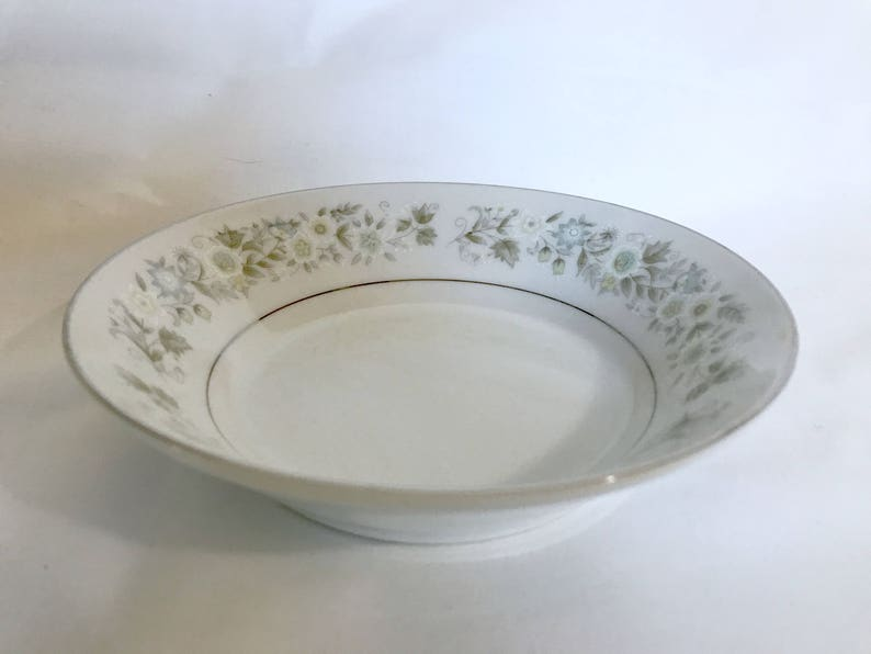 Replacement Dish for Set Fine China Made in Japan Dalton -Wild Flower Fruit  Dessert  Sauce Bowl #745 Vintage Imperial China by W