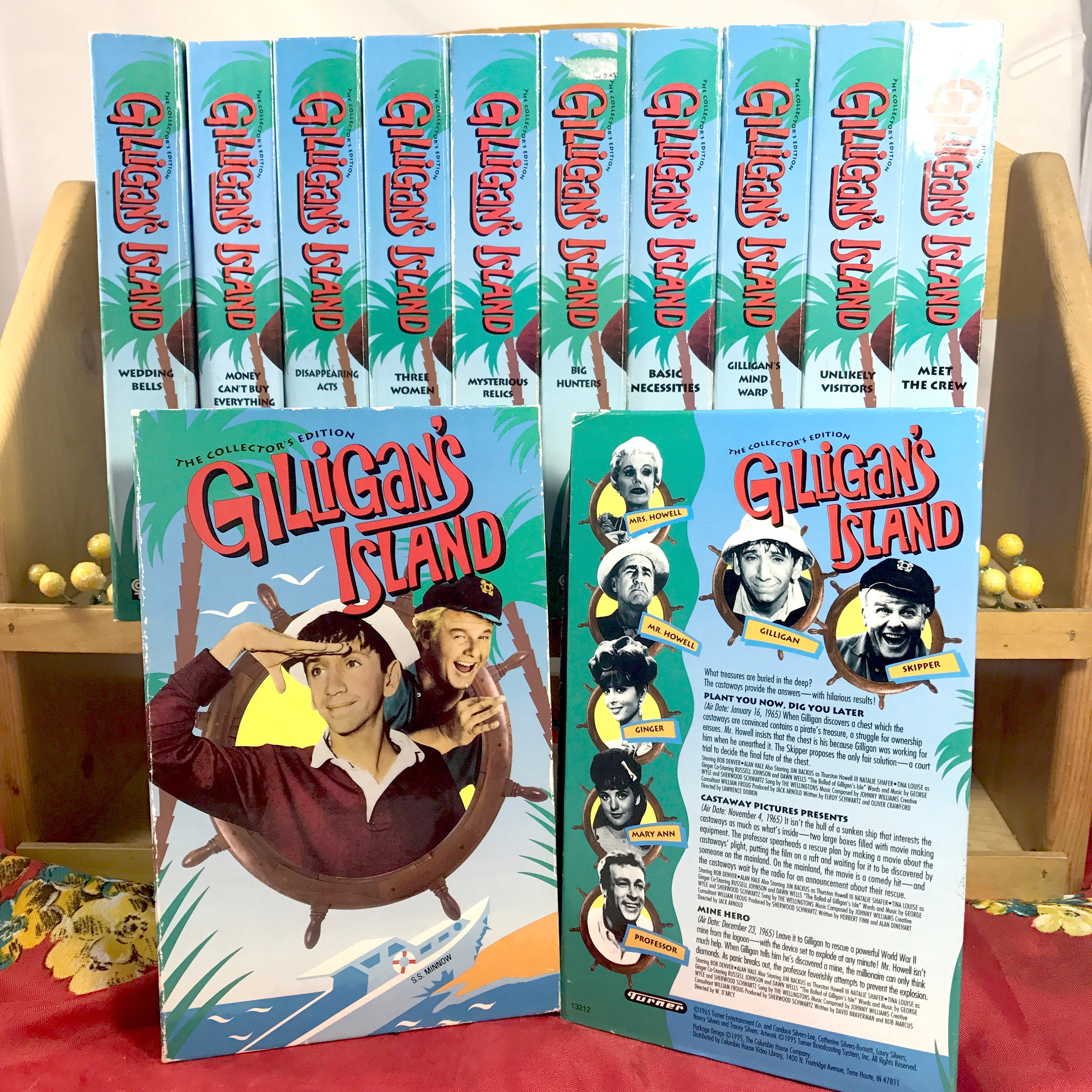 Gilligan\'s Island VHS Collection - Collector\'s Edition - 12 Videos ...