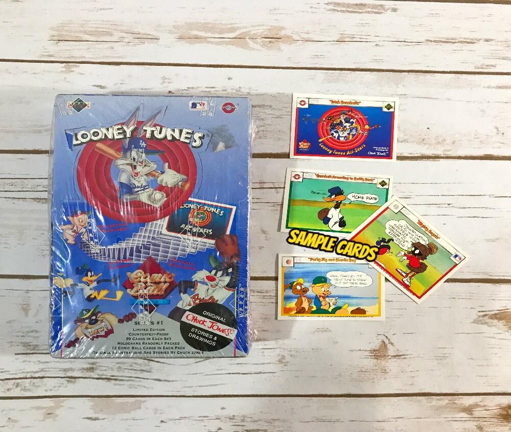 Looney Tunes Baseball Trading Cards 1990 Comic Ball 36