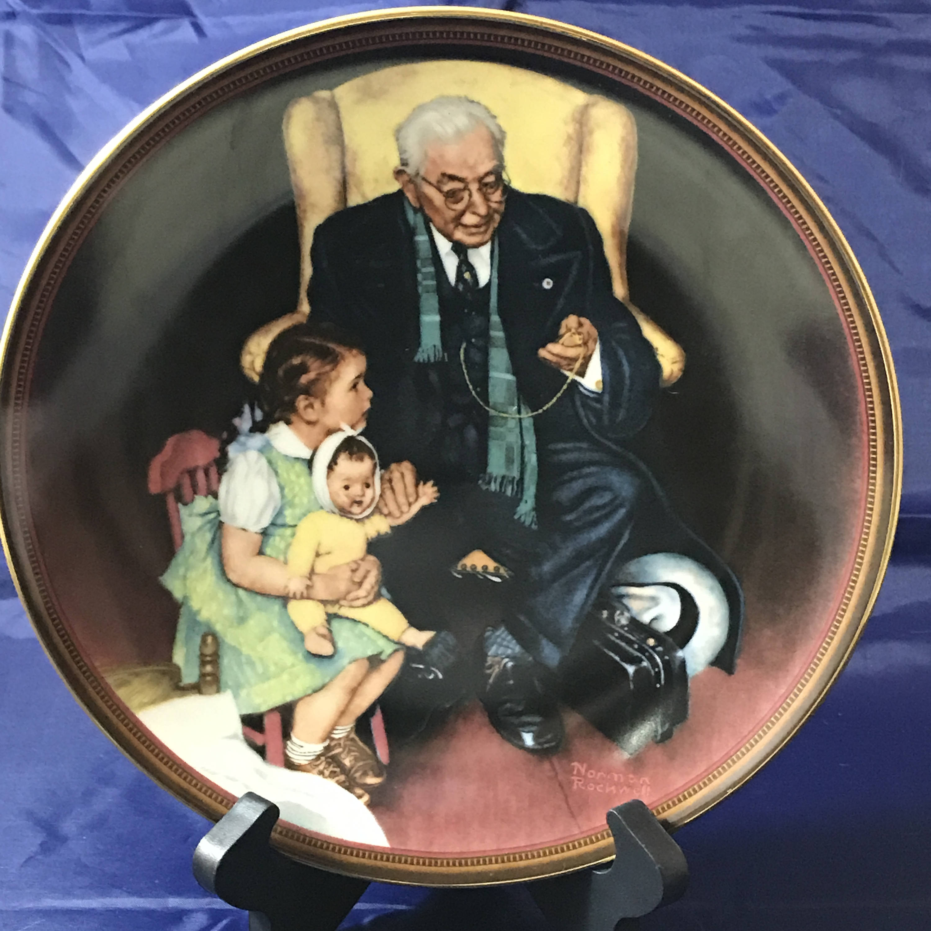 Norman Rockwell Collectors Plate - Tender Loving Care - The Ones We ...